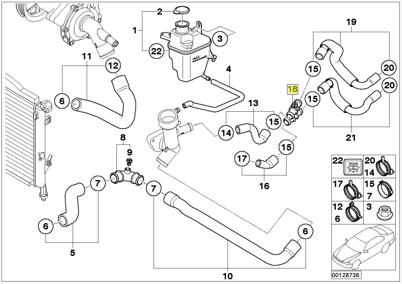 Wiring Coolant Temperature Sensor Free Diagram For You Cooper Mini Engine C00lant Cooling Manual Harness